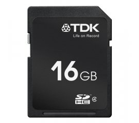 TDK 16GB SDHC memoria flash Classe 4