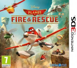 BANDAI NAMCO Entertainment Disney Planes: Fire and Rescue, 3DS Nintendo 3DS Basic ITA