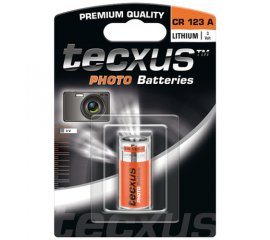 Tecxus CR 123 A photo Batteria monouso Litio