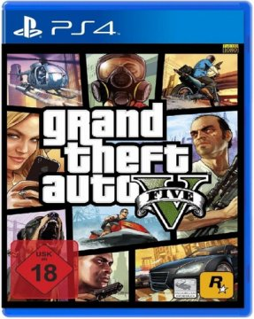 TAKE TWO GTA V PER PS4 VERSIONE ITALIANA