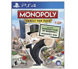 Ubisoft Monopoly Family Fun Pack, PlayStation 4 videogioco Inglese