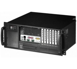 "Techly Chassis Industriale Rack 19""/Desktop 4U Ultra Compatto Nero (I-CASE MP-P4HX-BLK6)"