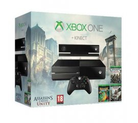 Microsoft 500GB Xbox One Bundle Nero Wi-Fi