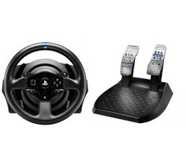 Thrustmaster T300RS Sterzo + Pedali PC,Playstation 3,PlayStation 4 USB 2.0 Nero