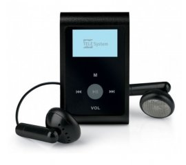 TELE System SNAP2 Lettore MP3 8 GB Nero