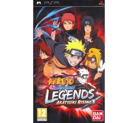 BANDAI NAMCO Entertainment Naruto Shippuden: Legends - Akatsuki Rising, PSP PlayStation Portatile (PSP) ITA