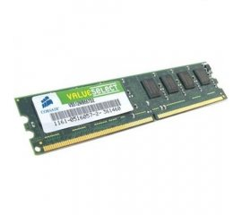 Corsair 1GB PC-5300 DDR2 SDRAM DIMM memoria 667 MHz