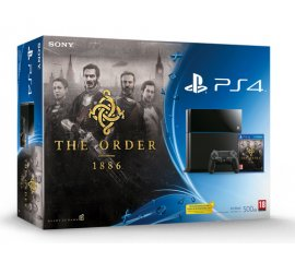 Sony 500GB PlayStation 4 + The Order: 1886 Nero Wi-Fi