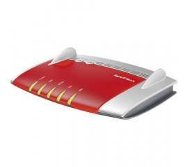 AVM FRITZ!Box 3490 International router wireless Dual-band (2.4 GHz/5 GHz) Gigabit Ethernet Rosso, Argento