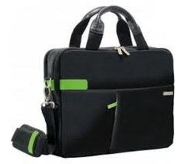 "LEITZ COMPLETE BORSA PER NOTEBOOK 13.3"" IN POLIESTERE 3 SCOMPARTI BLACK/GREEN"