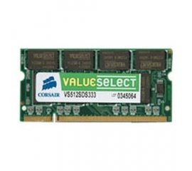 Corsair 1GB DDR2 SDRAM SO-DIMMs memoria 533 MHz