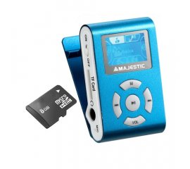 New Majestic SDB-8339 Lettore MP3 Blu 8 GB