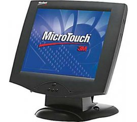 "3M M1700SS monitor touch screen 43,2 cm (17"") Nero Da tavolo"