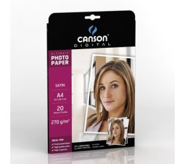 Canson Ultimate Satin A4 240G carta fotografica Bianco