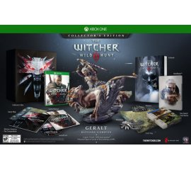 BANDAI NAMCO Entertainment The Witcher 3: Wild Hunt - Collector's Edition, Xbox One videogioco Base+DLC Inglese