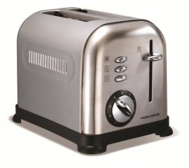 Morphy Richards Accents Brushed 2 fetta/e 950 W Acciaio inossidabile