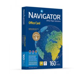 Navigator OFFICE CARD carta inkjet A4 (210x297 mm) Opaco Bianco