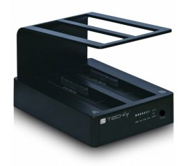 "Techly Docking Station USB 3.0 Doppio Slot per HDD SATA 2.5""/3.5"" (I-CASE SATA-TST42)"