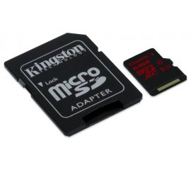 KINGSTON 64GB MICRO SDHC UHS-I SPEED CLASS 3 90R/80W