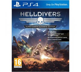 SONY HELLDIVERS SUPER EARTH ULTIMATE EDITION PER PS4 VERSIONE ITALIANA