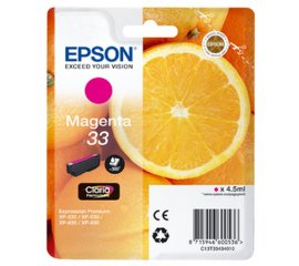 EPSON 33 CARTUCCIA MAGENTA IN BLISTER PER XP-530-630-635-830 300 PAG