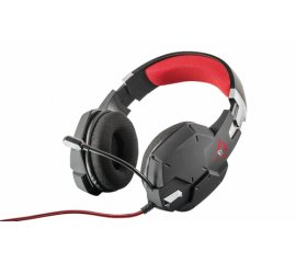 TRUST GXT 322 DYNAMIC HEADSET CUFFIE GAMING CON MICROFONO CAVO 1.9MT 2xJACK 3.5MM COLORE NERO