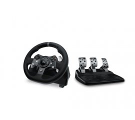 Logitech G920 Nero USB 2.0 Sterzo + Pedali Analogico/Digitale PC, Xbox One