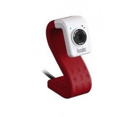Hercules HD Twist webcam 5 MP 1280 x 720 Pixel USB 2.0 Rosso