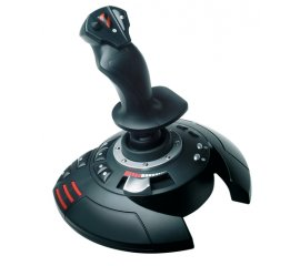 Thrustmaster T.Flight Stick X Joystick PC,Playstation 3 Analogico USB Nero, Rosso, Argento