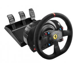 THRUSTMASTER T300 FERRARI ALCANTARA VOLANTE CON PEDALIERA COMPATIBILE PS3/PS4/WIN XP/VISTA/7 COLORE NERO