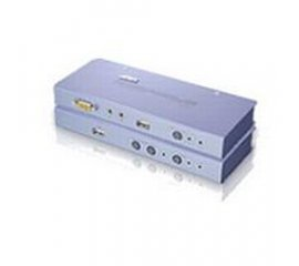 Aten CE800 switch per keyboard-video-mouse (kvm) Grigio