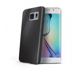 CELLY GALAXY S6 EDGE COVER IN GEL COLORE NERO