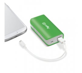 Celly Li-Ion 4000mAh batteria portatile Verde Ioni di Litio