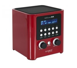Tangent Alio Junior DAB radio Personale Analogico e digitale Rosso