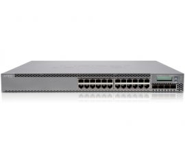 Juniper EX3300, 24-port PoE+ Gestito L2/L3 10G Ethernet (100/1000/10000) Nero 1U Supporto Power over Ethernet (PoE)