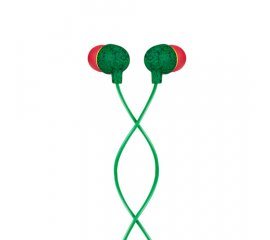 The House Of Marley Little Bird Cuffie Auricolare Verde, Rosso
