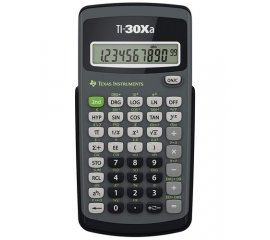 Texas Instruments TI-30Xa calcolatrice Tasca Calcolatrice scientifica Nero, Grigio