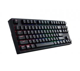 COOLER MASTER CM STORM MASTERKEYS PRO S TASTIERA GAMING LAYOUT ITALIANO INTERFACCIA USB INTERRUTTORE CHERRRY MX RED COLORE NERO