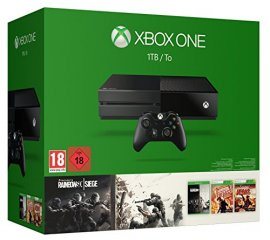 Microsoft Xbox One 1TB + Tom Clancy's Rainbow Six Siege Nero 1000 GB Wi-Fi