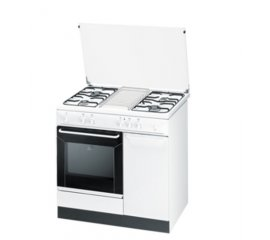 Indesit K9G21S(W)/I S cucina Piano cottura Bianco Gas