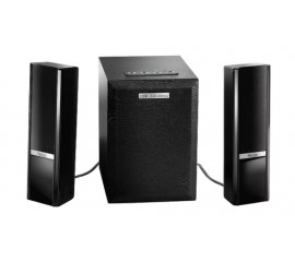 Hercules 2.1 Gloss Bluetooth set di altoparlanti 2.1 canali Nero