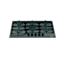 Hotpoint PH 750 T (AN)/HA Nero Da incasso Gas 5 Fornello(i)