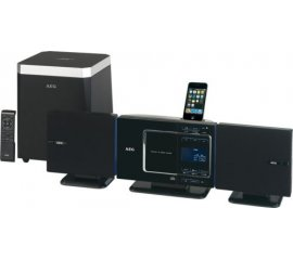 AEG MC 4451 IP Microsistema audio per la casa Nero