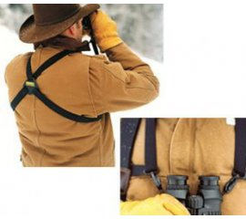 Bushnell Binocular Shoulder Harness Nero