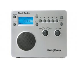 Tivoli Audio Songbook radio Portatile Digitale Argento