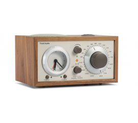 Tivoli Audio Model Three radio Orologio Analogico Beige, Noce