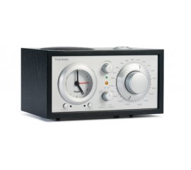 Tivoli Audio Model Three radio Orologio Analogico Nero, Argento