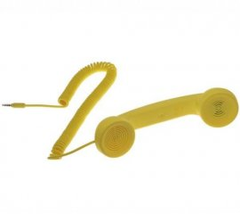 Native Union Moshi Moshi Pop Phone Giallo