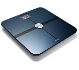 Withings The Wi-Fi Body Scale Bilancia pesapersone elettronica Nero