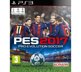 Digital Bros Pro Evolution Soccer 2017, PS3 PlayStation 3 Basic ITA